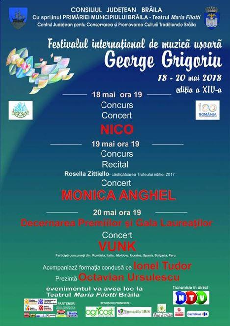 Iata cine sunt cei 12 concurenti din Romania la Festivalul George Grigoriu