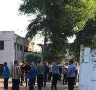 Protest spontan la Braicar
