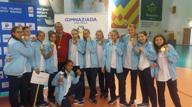 LPS Braila locul 3 la Gimnaziada de handbal fete