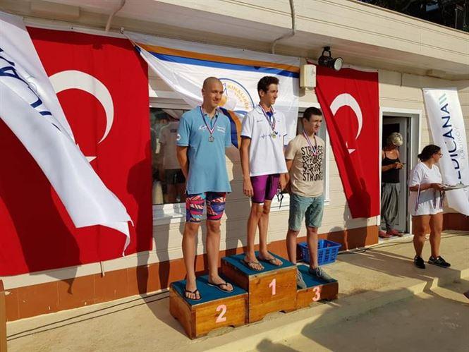 Galerie foto: Cinci clasari pe podium pentru inotatorii braileni la Istanbul