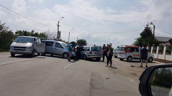 Update: Accident cu 5 victime pe soseaua dig Braila-Galati