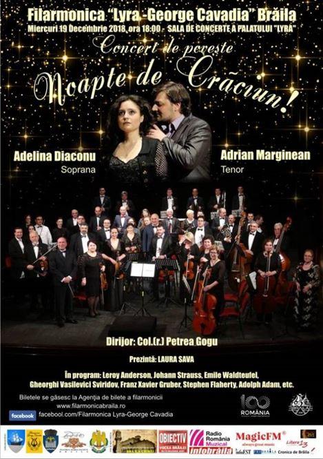 """Concert de poveste """"Noapte de Crăciun"""""""