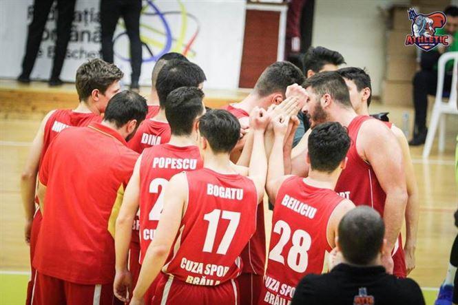 Cuza Sport Brăila a încheiat anul 2018 cu o nouă înfrângere