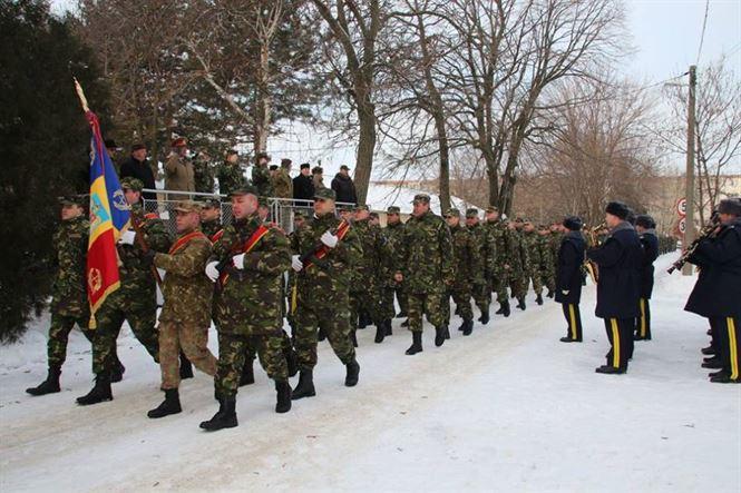 Deschiderea anului de instrucție la Brigada 10 Geniu