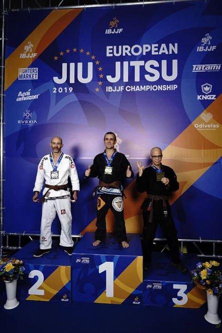 Brăilenii Gheorghe Negru și Cornel Mușat medaliați la Campionatul Europen de jiu jitsu brazilian