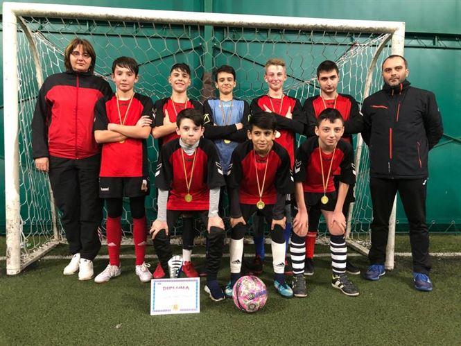 Echipa Liceului Perpessicius a câștigat faza județeană a Olimpiadei Gimnaziilor la fotbal băieți