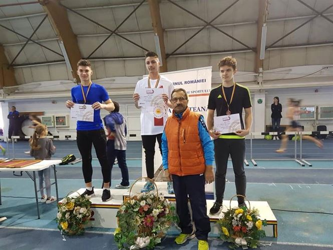 Lucian Sâmpetru și Darius Techiu medaliați la naționalele de atletism pentru juniori III