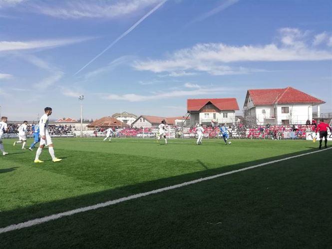 Dacia Unirea a marcat două goluri la Tg. Jiu, dar au primit cinci