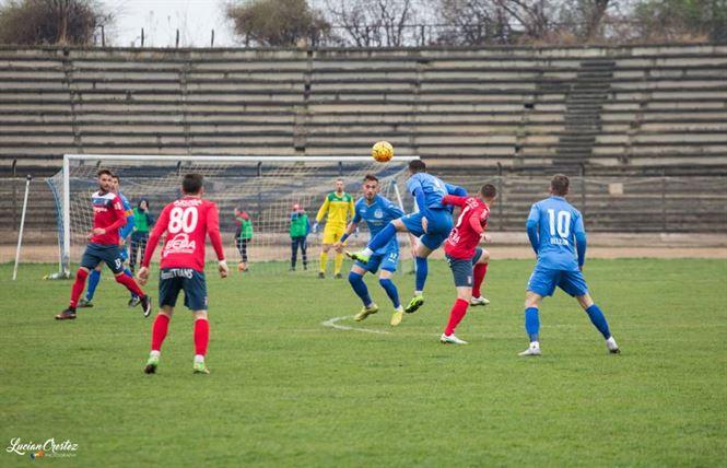 Dacia Unirea pierde pe teren propriu meciul cu Chindia Targoviste