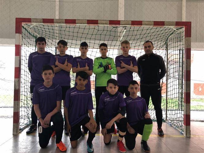 """Echipa Liceului Pedagogic """"D. P. Perpessicius"""" locul 4 la faza zonală a Gimnaziadei de fotbal"""