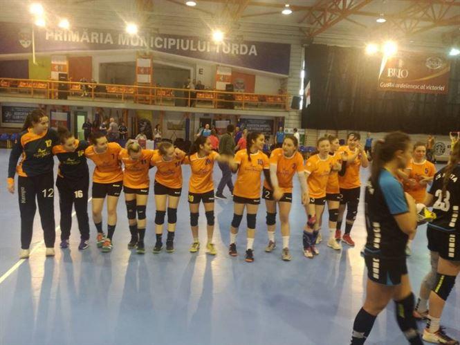 Handbalistele junioare I de la LPS Brăila vor juca doar pentru locul 5 la turneul final