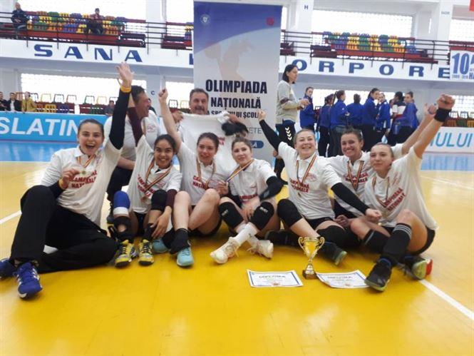 LPS Brăila medalie de aur la ONSS handbal fete liceu