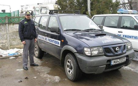 Ratacit in Insula Mare a Brailei, salvat de politistii de frontiera