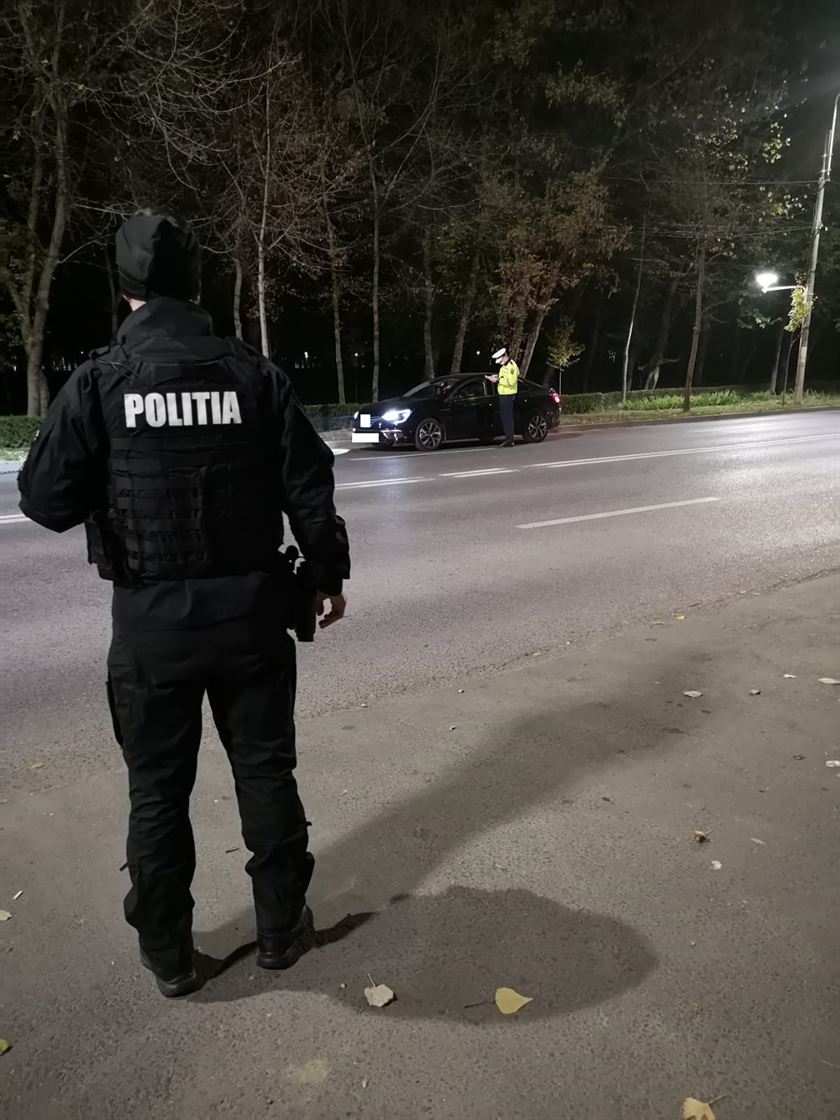 Acțiuni nocturne ale polițiștilor brăileni