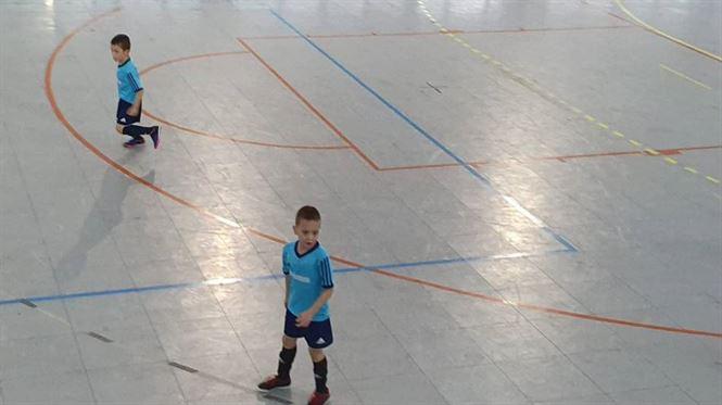 Răzvan Giurgiu a marcat 14 goluri într-un meci amical de copii născuți în 2013