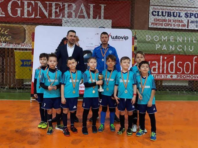 """Kinder Brăila, locul 3 la """"Autovip Kids Cup"""""""