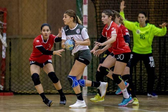 Echipa de Divizia A a HC Dunărea învinsă la 8 goluri de liderul seriei, CSM Galați