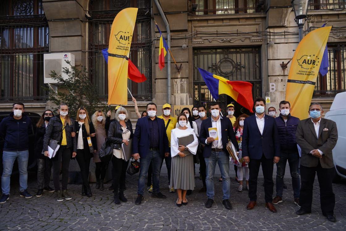 Alianța pentru Unirea Românilor, o nouă forță care vrea să intre în Parlament