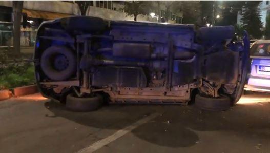 Accident între un Jeep și un Audi pe strada Eremia Grigorescu. Unul dintre șoferi era sub influența alcoolului