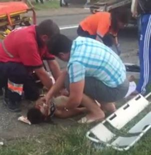 Accident mortal la Movila Miresii