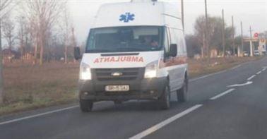 Accident pe DE 584