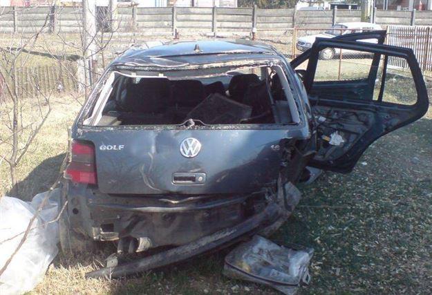 Accident rutier in apropiere de Urleasca
