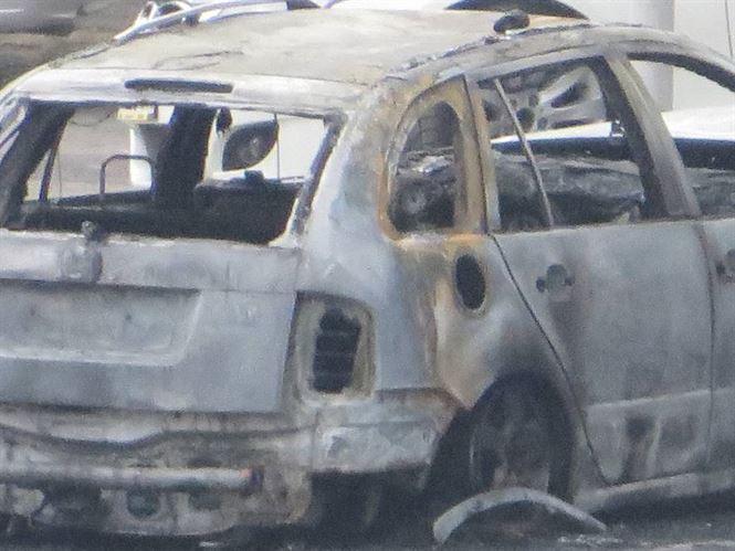 Accident rutier soldat cu incendierea autovehiculului