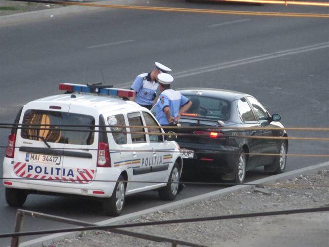 Actiune a politistilor de la rutiera