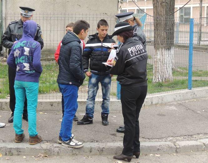 Actiuni ale politistilor de proximitate