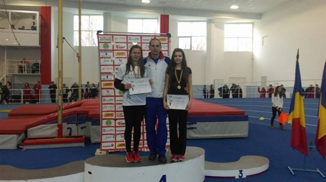 Adelina Sandu si Iulia Baranga pe podium la nationalele de juniori II