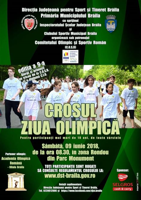 Sambata are loc editia a IX-a a Crosului Olimpic
