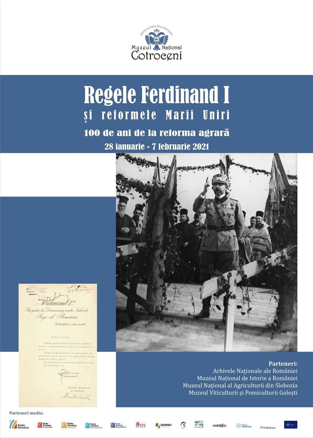 100 de ani de la Reforma Agrară