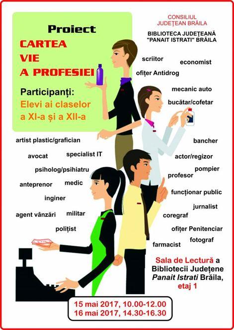 Proiect Cartea vie a profesiei