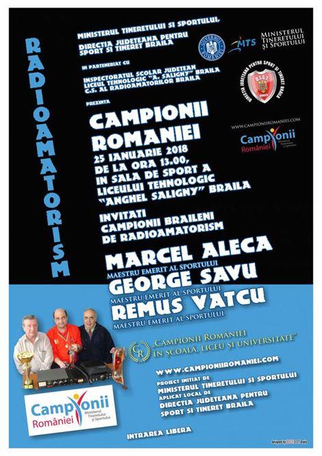 "Campionii Romaniei la Liceul Teoretic ""Anghel Saligny"""