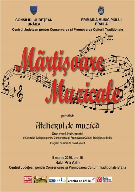 Mărțișoare muzicale