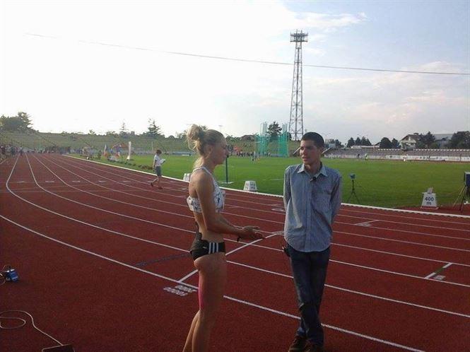 Anamaria Ionita – vicecampioana nationala la 100 m garduri