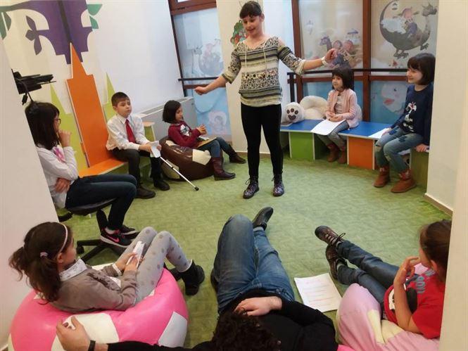 Atelier de teatru pentru copii la Biblioteca Județeană Panait Istrati