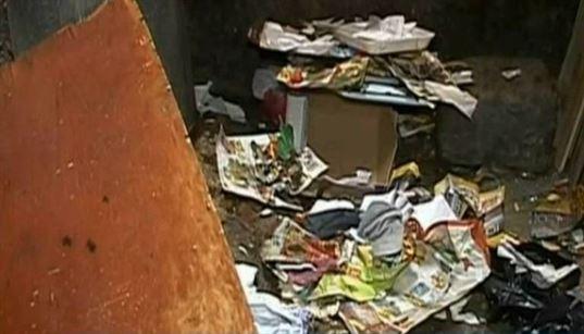 Nou nascut gasit in ghena de gunoi de la un bloc din cartierul Viziru 3