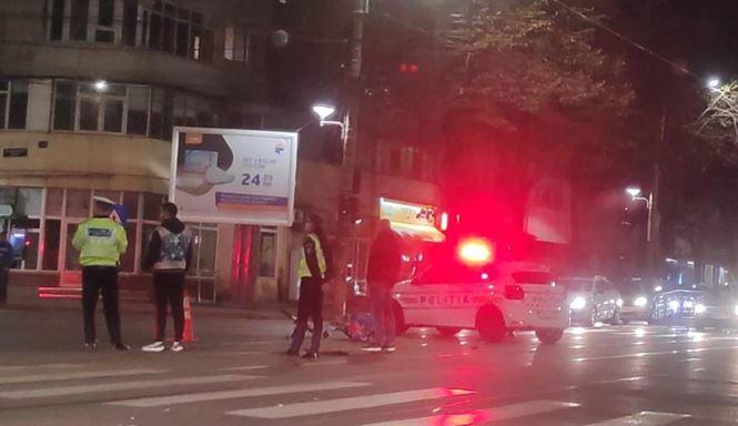 Biciclist accidentat pe Bulevardul Dorobanților