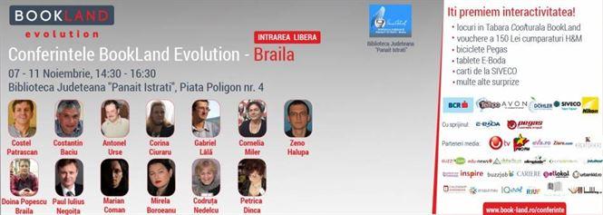 Proiectul cultural BookLand Evolution la Biblioteca Judeteana