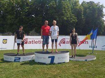 Braileanca Anamaria Ionita campioana nationala la Heptathlon