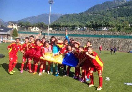 Braileanul Coman a marcat golul victoriei Romaniei in meciul cu Andorra