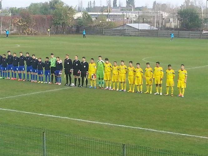 Braileanul Madalin Calu, titular la nationala U15 de fotbal
