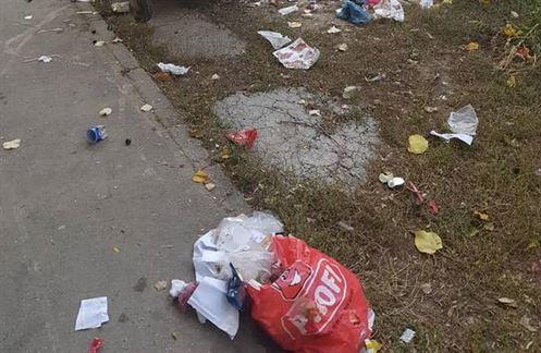 Braileni amendati pentru aruncarea gunoaielor pe domeniul public