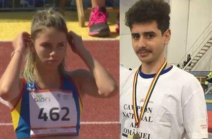Brailenii Bianca Toader si Robert Simion participa la campionatele europene de atletism pentru cadeti