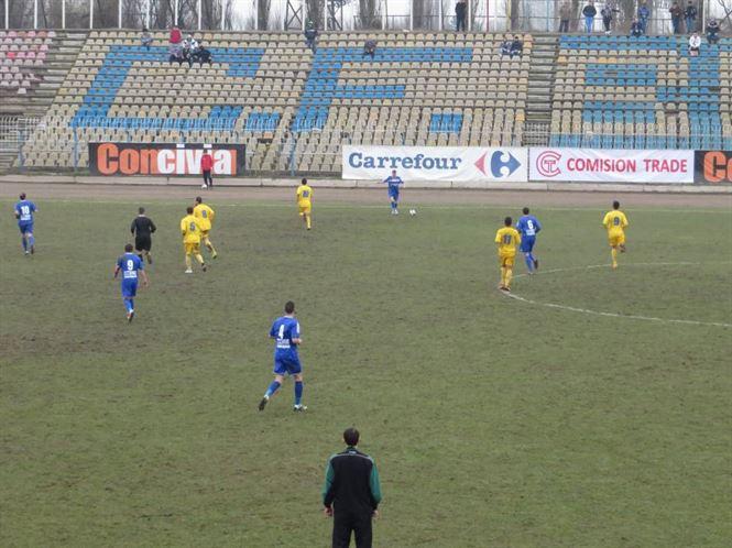 CF Braila a pierdut amicalul cu SC Bacau