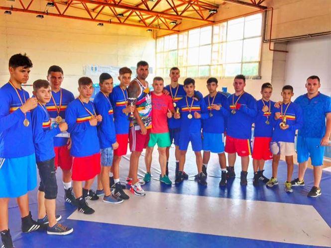 Boxul brailean, o singura medalie de bronz la nationalele de juniori