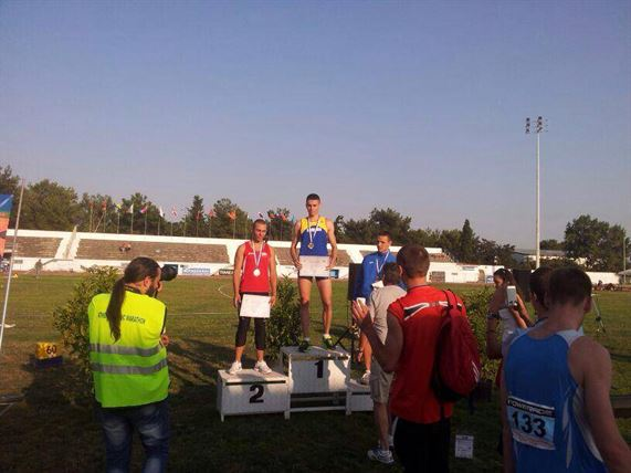 Cinci medalii obtinute de atletii braileni la Balcaniada de juniori 1