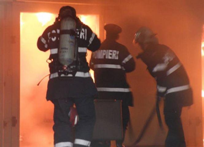 Circa 1700 de porci morti in urma unui incendiu la o ferma din Tichilesti