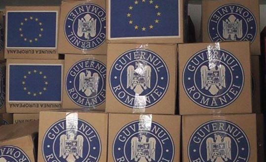 Circa 5 mii de braileni mai pot beneficia de inca o transa de alimente de la UE